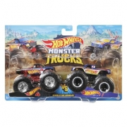 Hot Wheels - Monster Truck - Hot Wheels 4 VS Hot Wheels 1 - Mattel