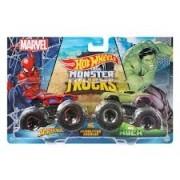 Hot Wheels Monster Trucks - Spider-Man VS. Hulk