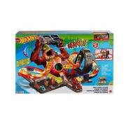Hot Wheels Pista Ataque Tóxico Do Gorila C/Som Mattel Gtt94