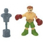 Imaginext Mini Figura Com Acessórios - Lutador de Boxe - Fisher Price