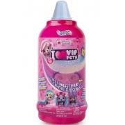 Imc Toys vip Pets Azul Boneca revelação de cabelo surpresa série 1 Multikids