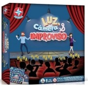 Jogo De Tabuleiro Luz Câmera E Improviso Original Da Estrela