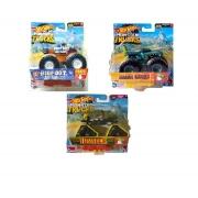 kit de 3 carrinhos Hot Weels Monster Truks FYJ44