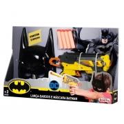Lança De Dardos e Máscara Batman Rosita