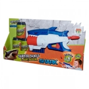 Lançador Super Shot Shark DM Toys