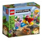 LEGO Minecraft  O Recife de Coral 21164