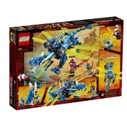 LEGO Ninjago - O Ciber dragão do Jay-71711