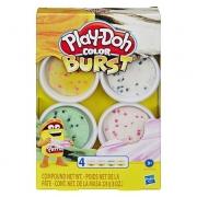 Massinha Play Doh Color Burst E8061 Hasbro