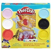 Massinha Play Doh Fundamentals Molde de Animais Hasbro E8535