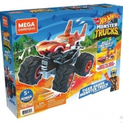 Mega Construx - Hot Wheels - Monster Trucks - Tiger Shark - Mattel