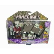 Minecraft Capitão de Ataque e Saqueador GTT53 Mattel