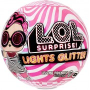 Mini Boneca Surpresa - LOL Surprise! - Lights Glitter - 8 Surpresas - Candide