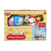 Móbile Musical Infantil Pura Diversão Snoopy Peanuts 20125