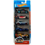 Pack 5 Carrinhos Hot Wheels City - Mattel