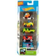 Pack com 5 Carrinhos Hot Wheels HW Fun Park - Mattel
