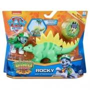 Patrulha Canina Dino Rescue Rocky e Estegossauro Sunny