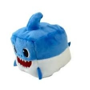 Pelúcia Cubo Baby Shark Azul 2353 - Sunny