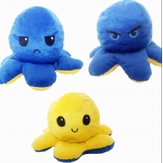 Pelúcia Polvo humor Grande Azul e amerelo