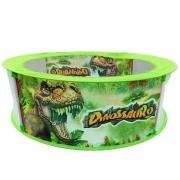 Piscina De Bolinhas Infantil Dinossauro com 100 bolinhas Dm Toys