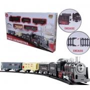 Pista Trem Locomotiva DM Toys DMT5750