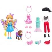 Polly Pocket Kit Cachorro Fantasias - Mattel