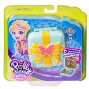 Polly Pocket - Playset E Mini Boneca - Floresta Mágica GDk79