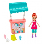 Polly Pocket Stand De Sorvetes Lila Mattel GWD82