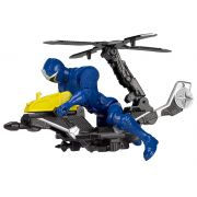 Power Rangers Veiculo com Ranger Azul - Sunny - 1824