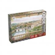 Puzzle 3000 peças Varanda em Roma  Grow