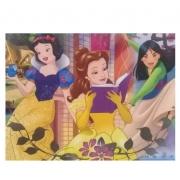 Puzzle 60 Peças Princesa Disney - Grow