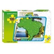 Quebra Cabeça Brasil - Estados e Capitais - Nig