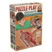 Quebras Cabeça Play Gigante Corpo Humano - Grow