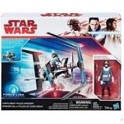 Star Wars Bright Police Speeder Force Link Hasbro