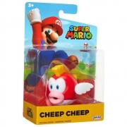 Super Mario Boneco Cheep Cheep colecionável Candide