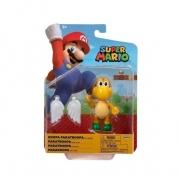 Super Mario Boneco koopa  4 polegadas colecionável Candide