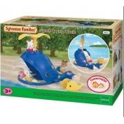 Sylvanian Families Conjunto Baleia Splash Original Epoch 5211