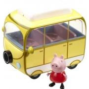 Veículo da Peppa Van Trailler Peppa Pig Sunny 2307