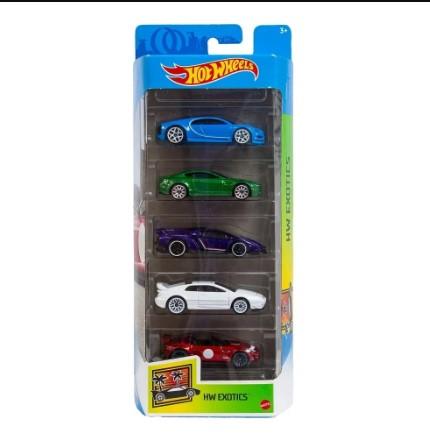 5 Pack HW Exotics 1/64 Hot Wheels 2021
