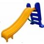Escorregador médio com 3 degraus Rampa Amarela com Escada azul