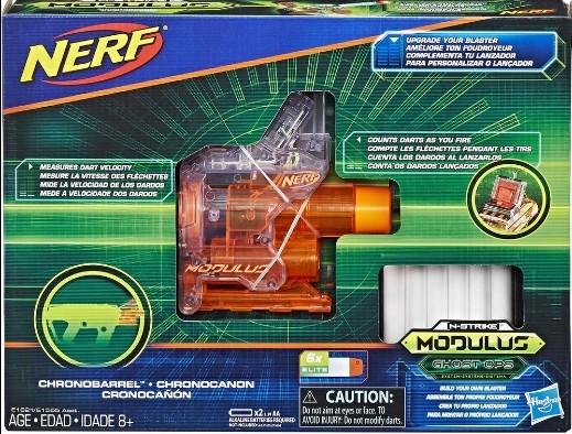 Acessório Nerf Ghost Ops Chronobarrel Hasbro E1621
