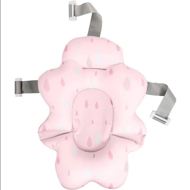 Almofada Para Banho Com Fivela Ajustavel Buba Rosa 10716