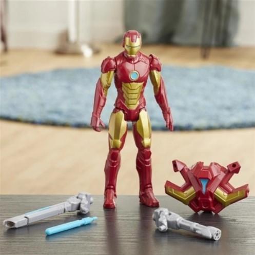 Homem De Ferro Lançador Titan Hero Blast Gear Hasbro E7380