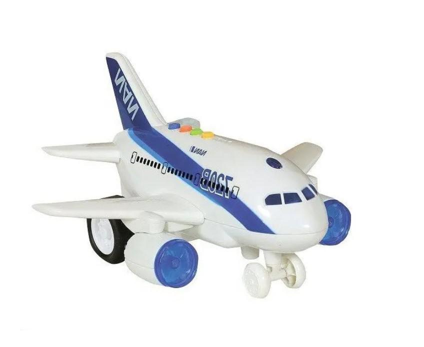 Avião com som e luz 1:160  Shiny Toys
