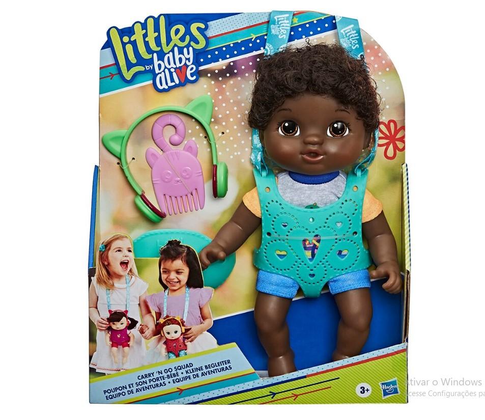 Baby Alive Equipe de Aventura Negra Hasbro
