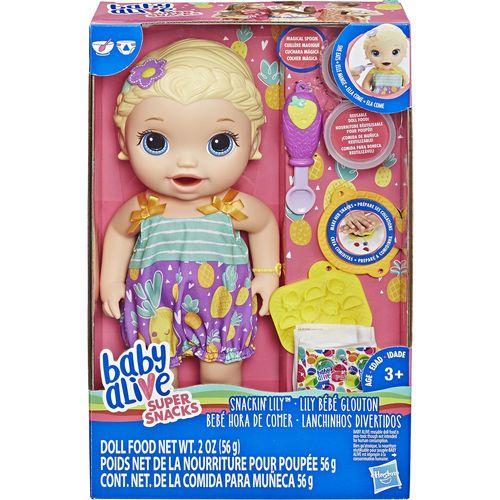 Baby Alive Lanchinhos Divertidos Loira - Hasbro - E5841