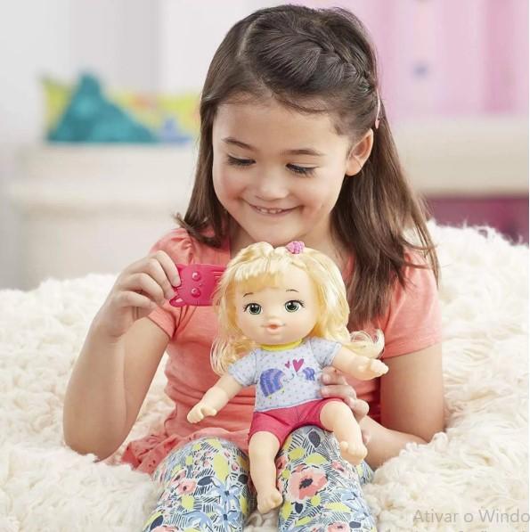 Baby Alive Littles Equipe de Aventuras Loira Hasbro