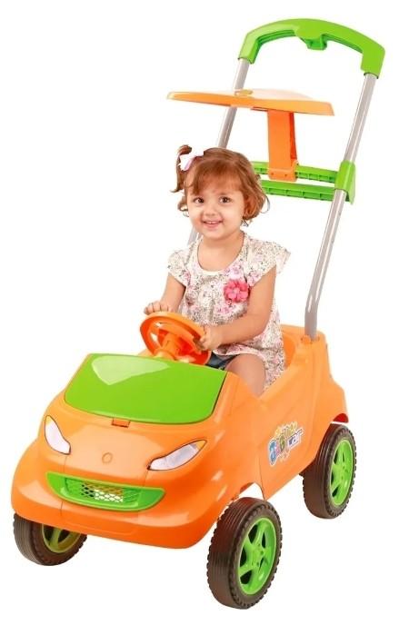 Baby Car Compact Laranja e Verde 4010 HomePlay
