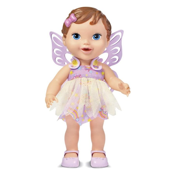 Babys Collection Fada Cabelo Supertoys Morena 302