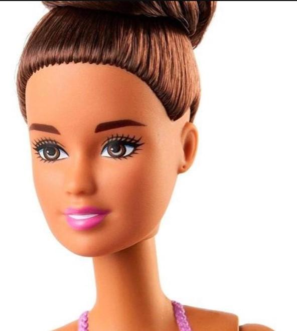 Barbie Bailarina Lilás morena Mattel