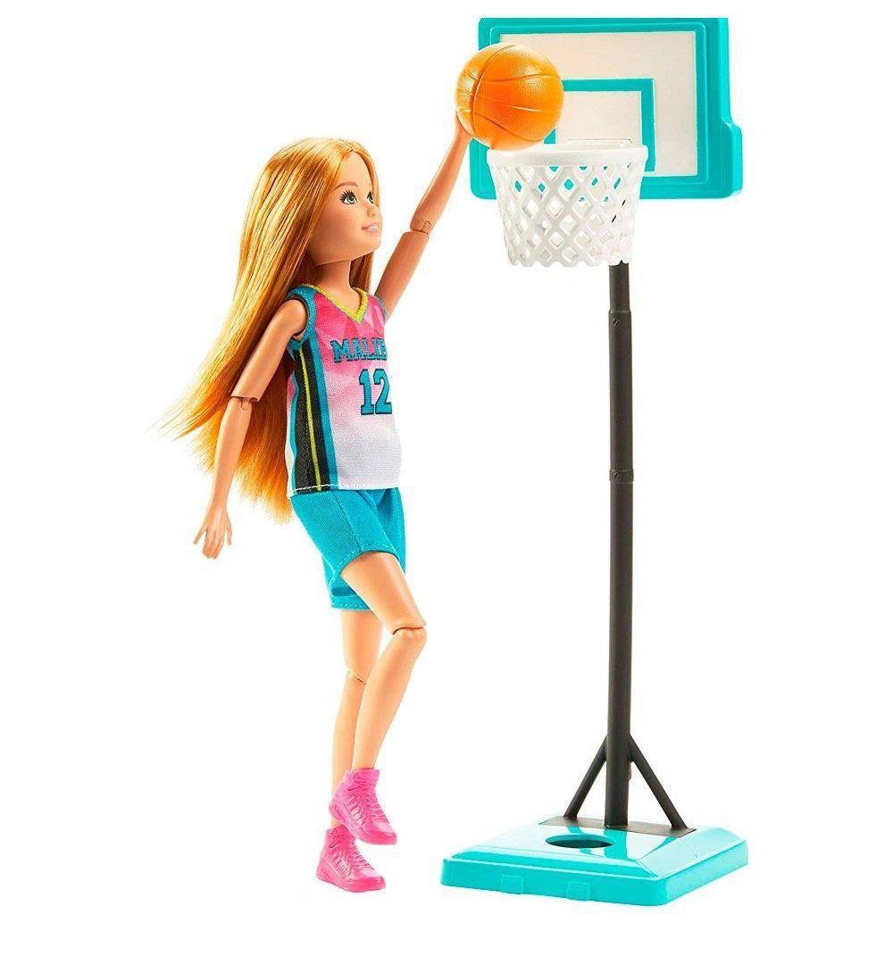 Barbie Dreamhouse Stacie Jogadora de Basquete Mattel